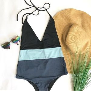 • Tavik Color Block One-Piece Bikini • HOST PICK